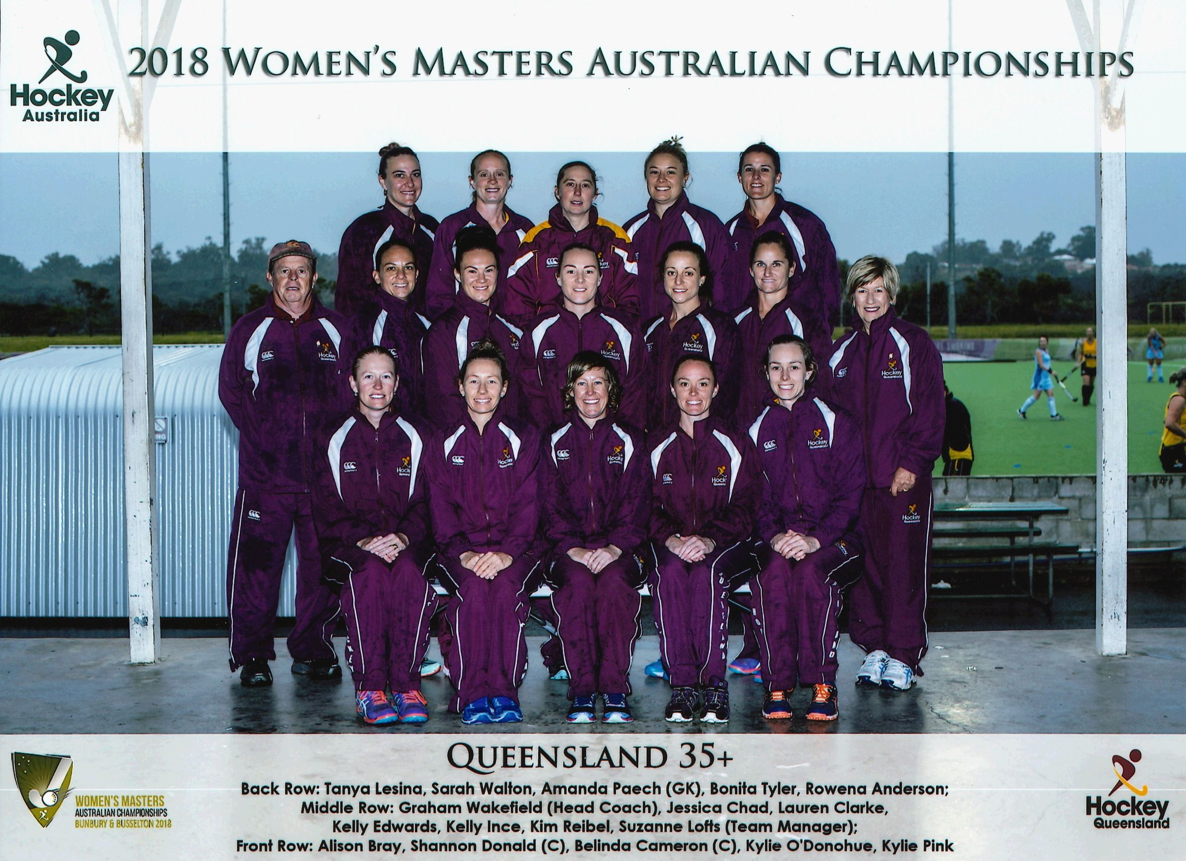 QLD Womens Masters Hockey